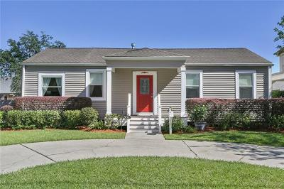 Metairie Single Family Home For Sale: 501 Jefferson Avenue