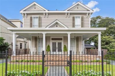 New Orleans Single Family Home For Sale: 1724 Valence Street