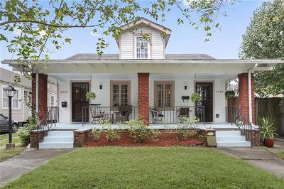 New Orleans Multi Family Home For Sale: 2703 Palmer Avenue