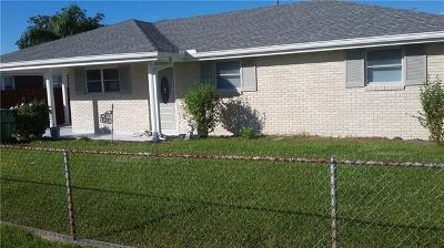 Marrero Single Family Home For Sale: 1212 Ave A Avenue