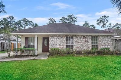 Covington Single Family Home For Sale: 70300 J Street