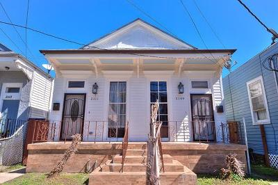New Orleans Multi Family Home For Sale: 2109 Fourth Street