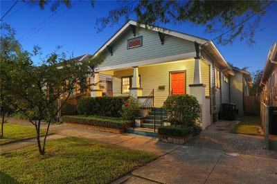 New Orleans Single Family Home For Sale: 818 Valence Street