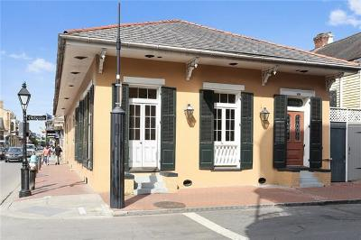 New Orleans Single Family Home For Sale: 839 Orleans Avenue