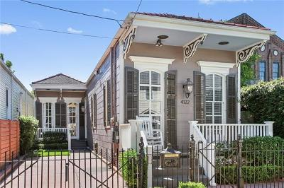 Single Family Home For Sale: 4122 Coliseum Street