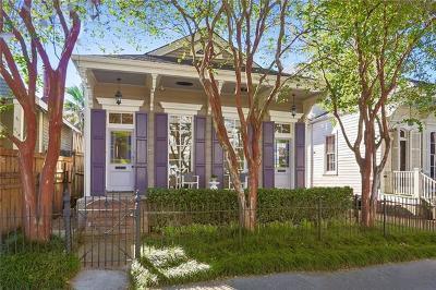 New Orleans Single Family Home For Sale: 820 Cadiz Street