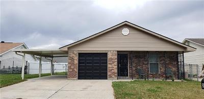 Marrero Single Family Home For Sale: 2624 Cascade Drive