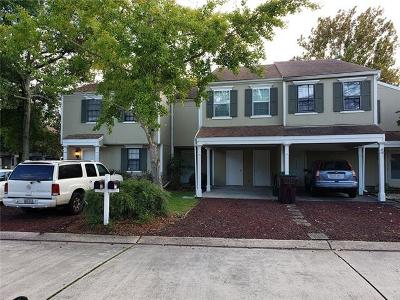Kenner Townhouse For Sale: 4211 Paradis Lane