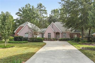 Mandeville Single Family Home For Sale: 146 Cherry Creek Drive
