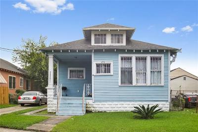 Single Family Home For Sale: 2716 St Bernard Avenue