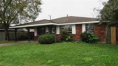 Marrero Single Family Home For Sale: 1140 Michael Street
