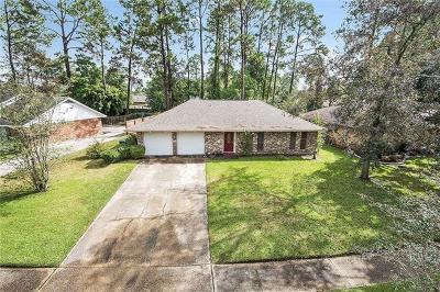 Slidell Single Family Home For Sale: 1410 Fernwood Drive
