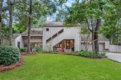 Mandeville Single Family Home For Sale: 12 Colony Trail Drive