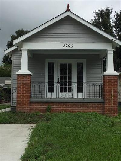New Orleans Single Family Home For Sale: 2765 Jasmine Street