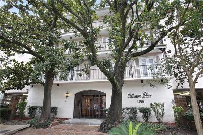 New Orleans Condo For Sale: 1765 Coliseum Street #208
