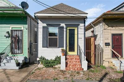 New Orleans Single Family Home For Sale: 1316 Frenchmen Street