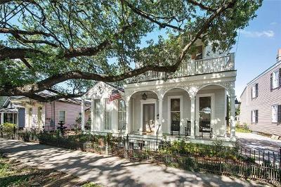 New Orleans Single Family Home For Sale: 1121 Washington Avenue