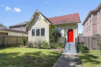New Orleans Single Family Home For Sale: 6116 Memphis Street