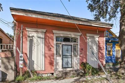 New Orleans Single Family Home For Sale: 3219 St Claude Avenue