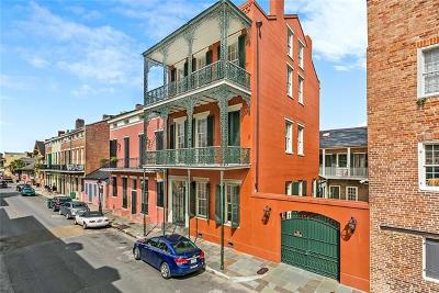 French Quarter Single Family Home For Sale: 917 Dumaine Street