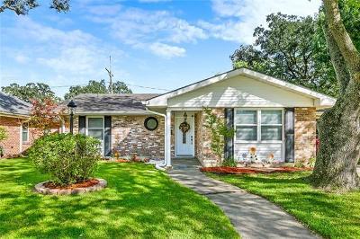 River Ridge, Harahan Single Family Home For Sale: 455 Stratford Drive