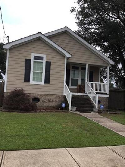 New Orleans Single Family Home For Sale: 4945 Congress Street