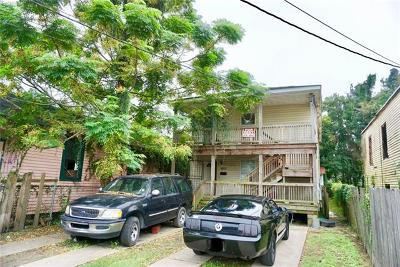 New Orleans Multi Family Home For Sale: 8812 Apple Street