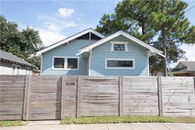 Single Family Home For Sale: 2105 Leonidas Street