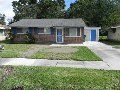Slidell Single Family Home For Sale: 3110 College Street