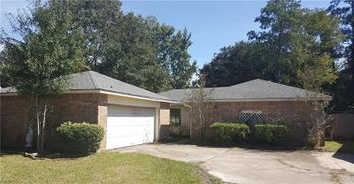 Slidell Single Family Home For Sale: 105 Westminster Drive