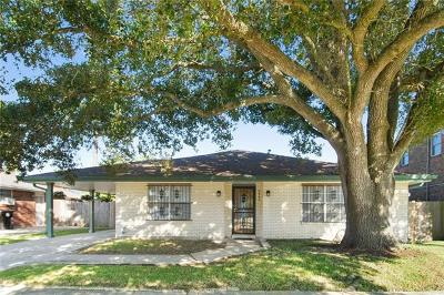 New Orleans Single Family Home For Sale: 4843 Perelli Drive