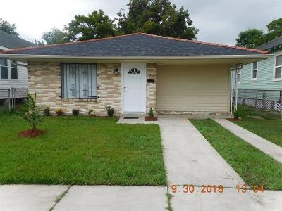 New Orleans Single Family Home For Sale: 3517 Clermont Drive