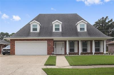 Gretna Single Family Home For Sale: 1828 Carol Sue Avenue