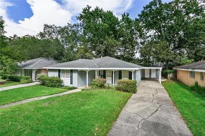 River Ridge, Harahan Single Family Home For Sale: 10117 Florence Court