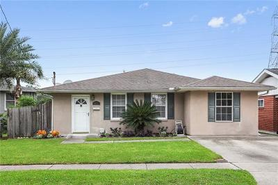 Metairie Single Family Home For Sale: 1125 Dona Avenue