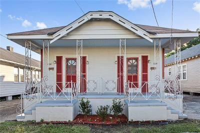 New Orleans Multi Family Home For Sale: 8712-14 Marks Street