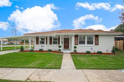 River Ridge, Harahan Single Family Home For Sale: 189 Hibiscus Place