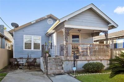 New Orleans Single Family Home For Sale: 2542 Elder Street