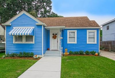 Metairie Single Family Home For Sale: 544 Orion Avenue
