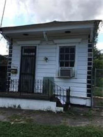 New Orleans Single Family Home For Sale: 2412 Conti Street