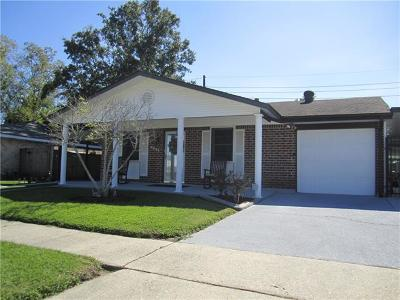 Marrero Single Family Home For Sale: 3041 Cornell Drive
