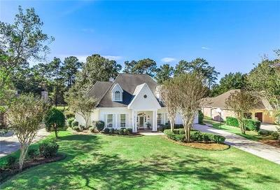 Mandeville Single Family Home For Sale: 105 Fontainbleau Drive