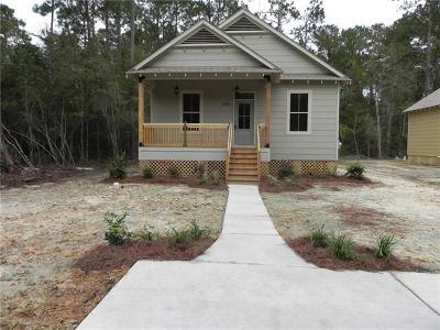 Slidell Single Family Home For Sale: 140 Sunset Drive