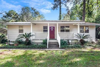 Mandeville Single Family Home For Sale: 69258 Prevost Road