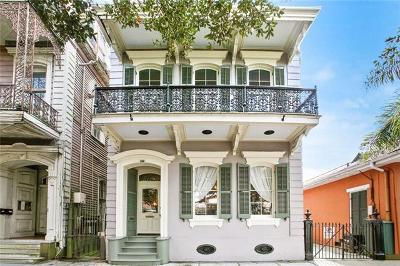 New Orleans Single Family Home For Sale: 634 Esplanade Avenue