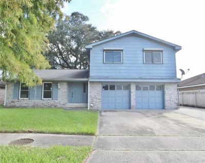 Marrero Single Family Home For Sale: 2509 Romig Drive