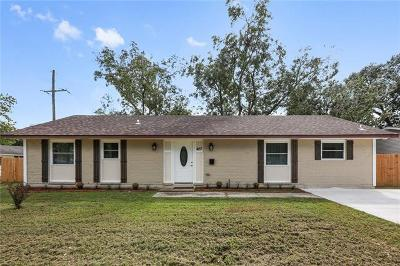 Kenner Single Family Home For Sale: 427 George Town Drive