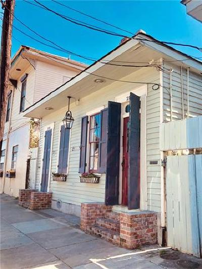 New Orleans Single Family Home For Sale: 2130 N Rampart Street