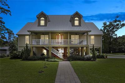 Mandeville LA Single Family Home For Sale: $697,000