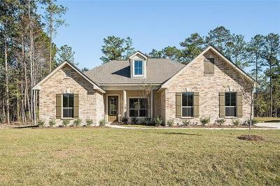 Madisonville LA Single Family Home For Sale: $304,900